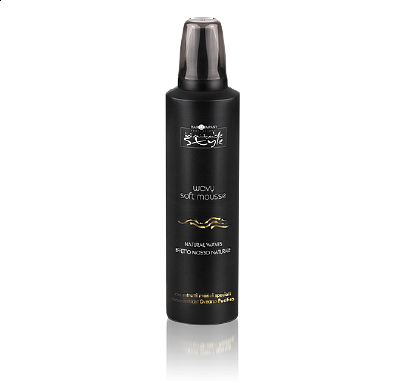 WAVY SOFT MOUSSE Haircompany – tužidlo na vlny 200 ml.