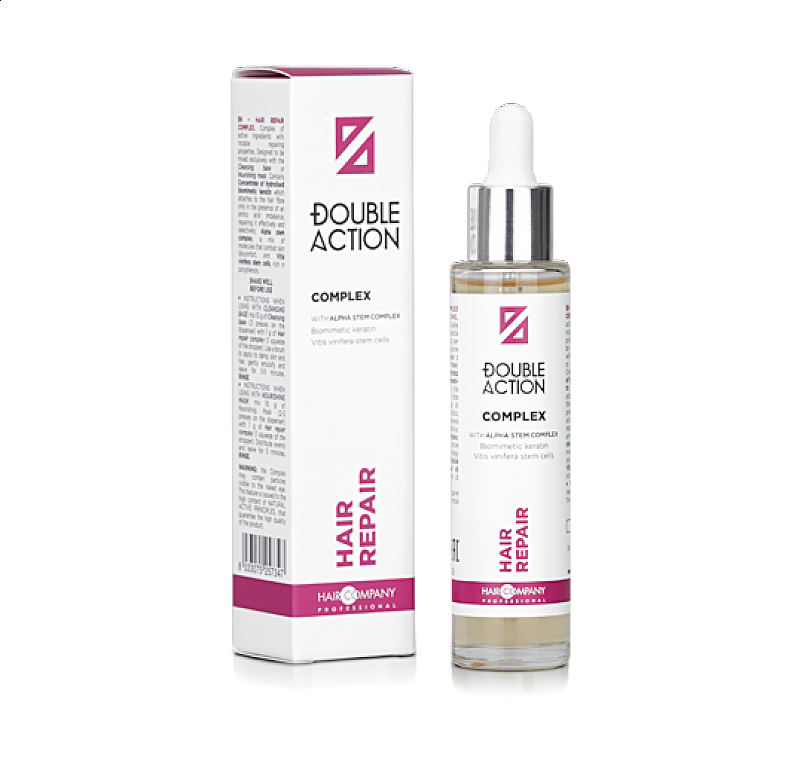 HAIR REPAIR COMPLEX Double Action Haircompany – regeneračné sérum na vlasy 50 ml.