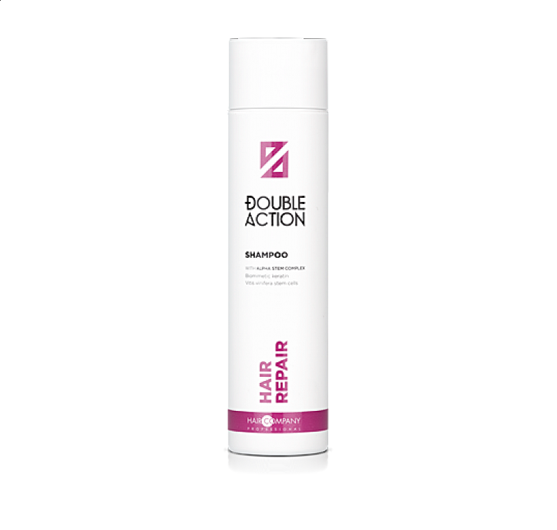 HAIR REPAIR SHAMPOO Double Action Haircompany - regeneračný šampón na vlasy 250 ml.