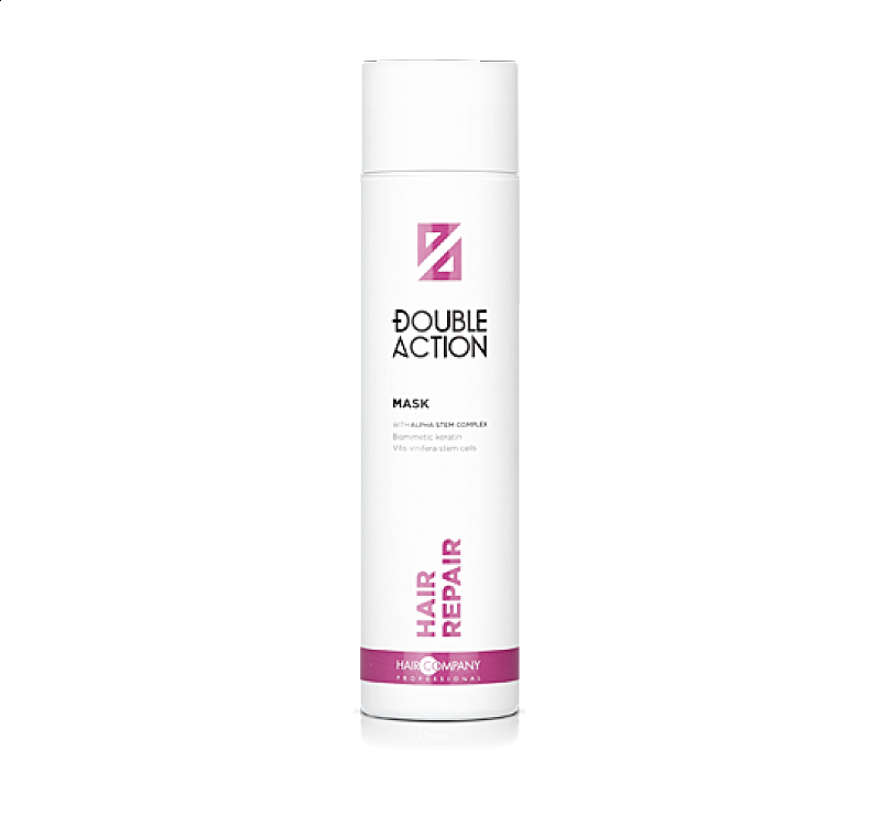 HAIR REPAIR MASK Double Action Haircompany – regeneračná maska na vlasy 250 ml.
