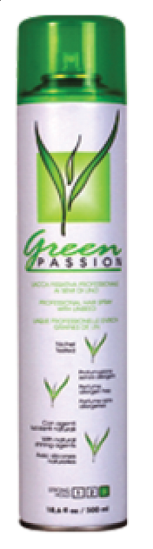 HAIR SPRAY EXTRA STRONG Green Passion – extra silne tužiaci lak na vlasy 300 ml.