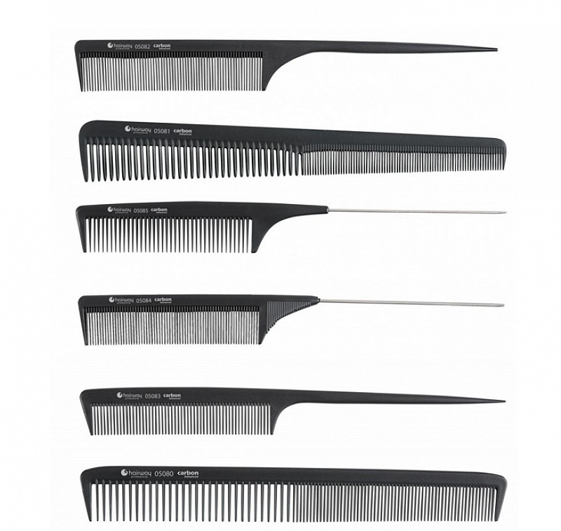 CARBON COMBS Hairway – profesionálne hrebene