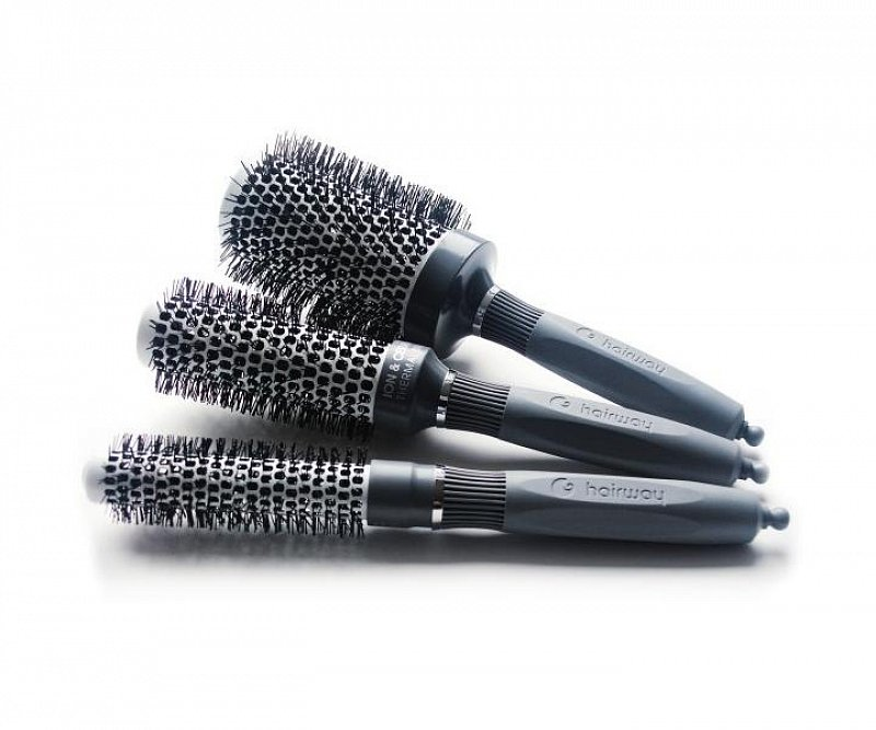 THERMAL CERAMIC + ION BRUSHES Hairway – profesionálne keramické kefy 20-53 mm